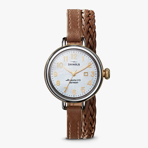 The Birdy Two Tone Polished Stainless 34MM Watch
