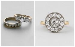 Diamond Halo Ring B&A