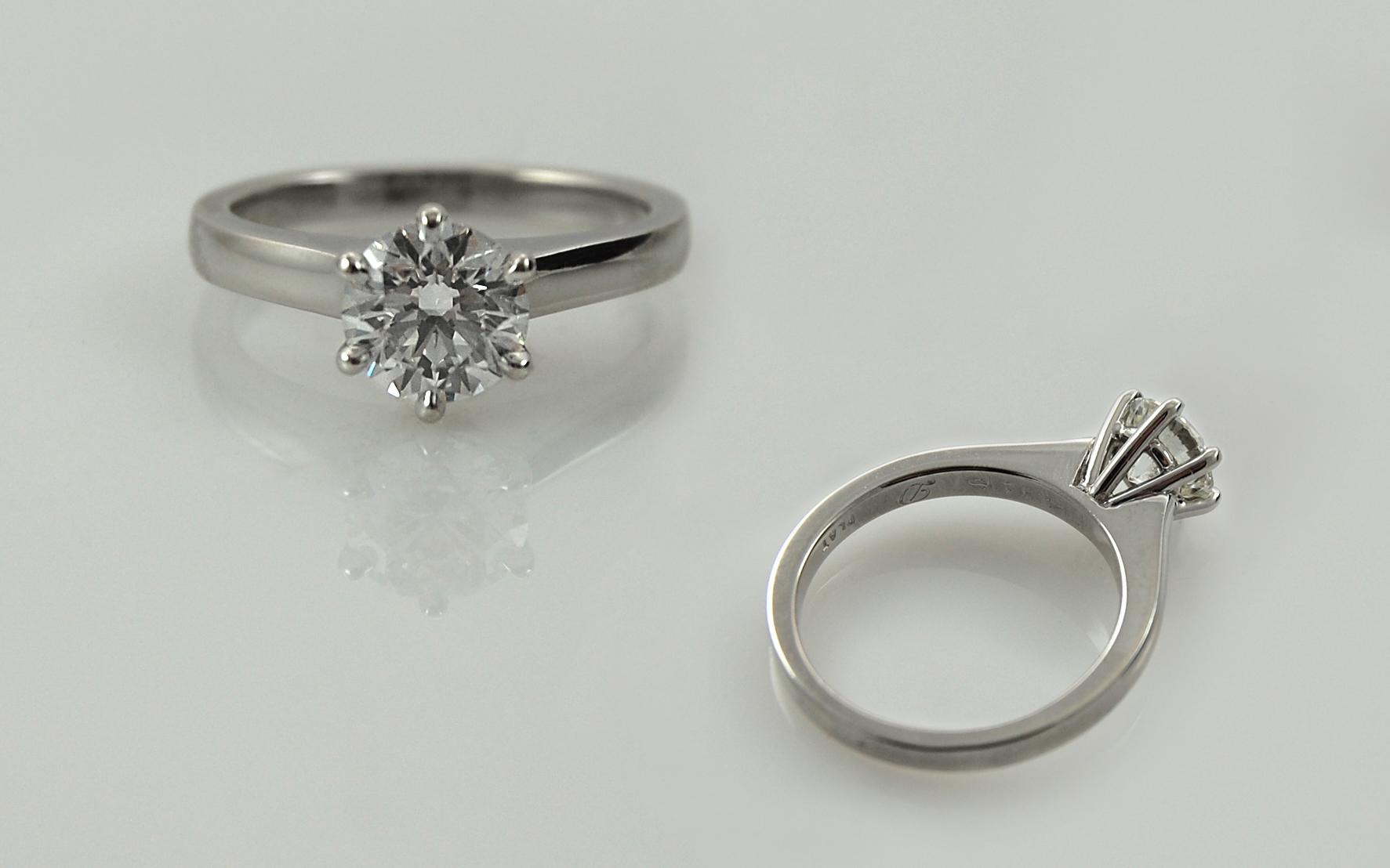 1.25 carat Diamond Solitaire