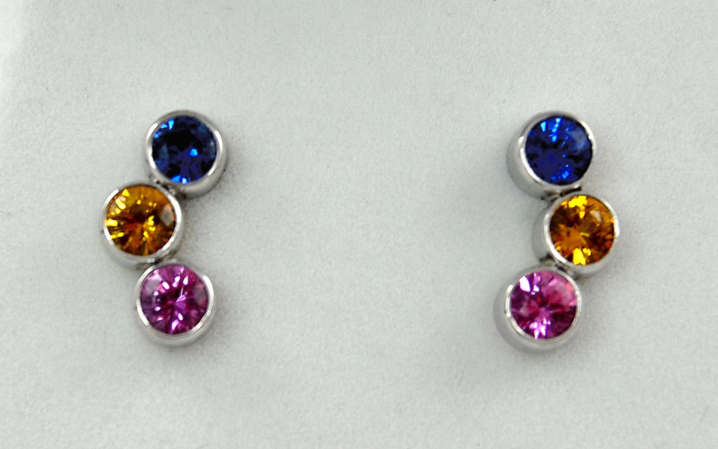 Multi Color Sapphire Bubbles