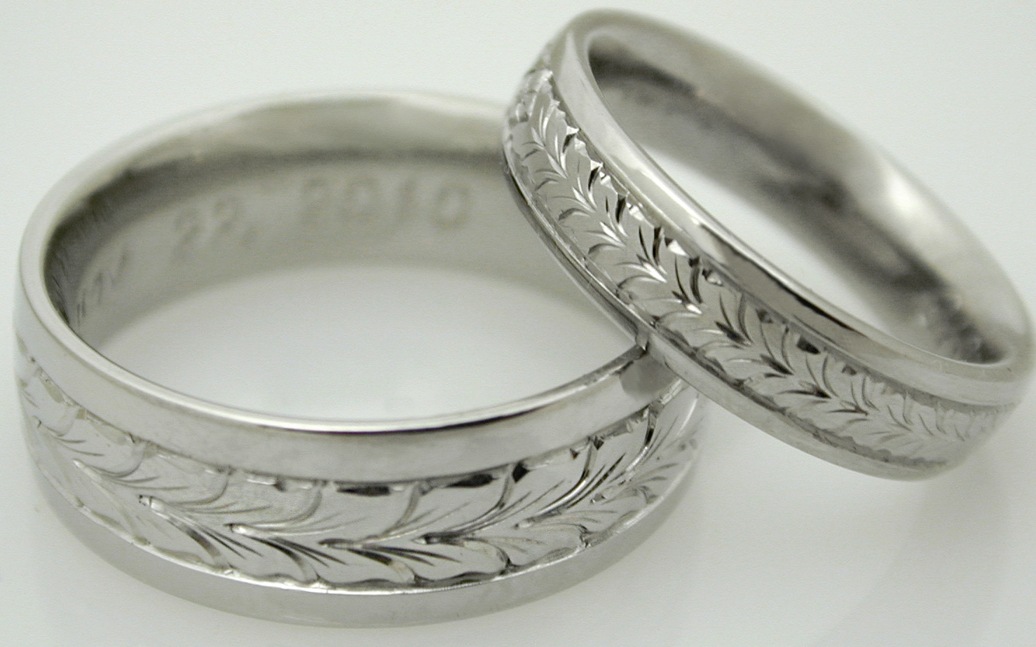 Hand Engraved Bands