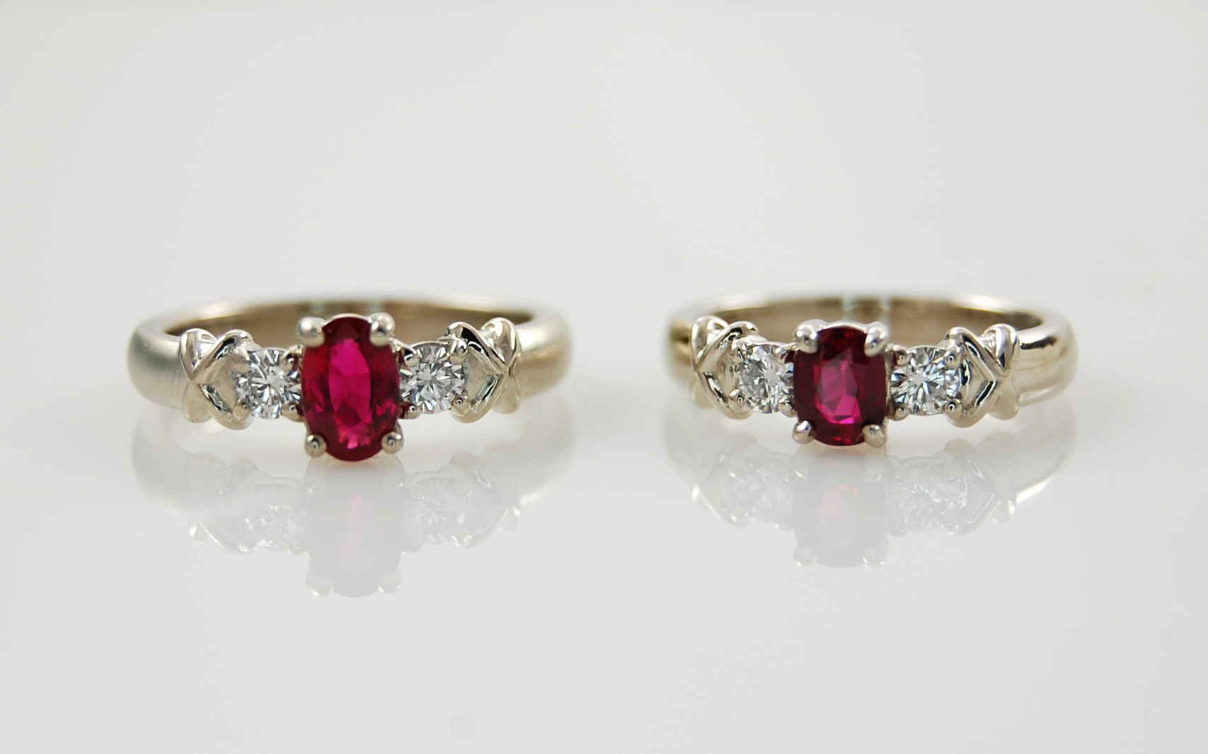 Ruby & Diamond Rings