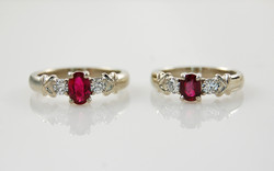 Ruby & Diamond Rings