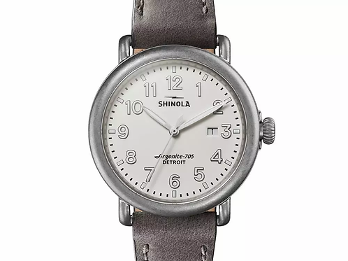 The Runwell with Tumbled Stainless Bezel