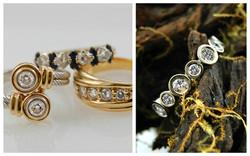 White Gold Bezel Set Diamond Eternity B&A