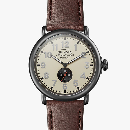 The Runwell Stainless Steel 47mm Watch