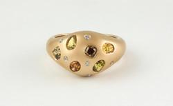 Fancy Scatter Diamond Ring