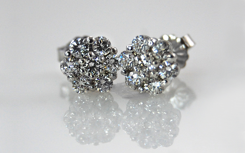 Diamond Flower Cluster