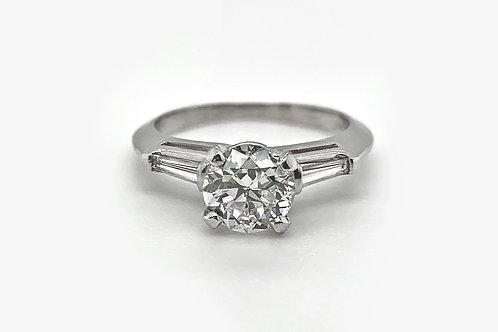 *ESTATE* Platinum Engagement Ring