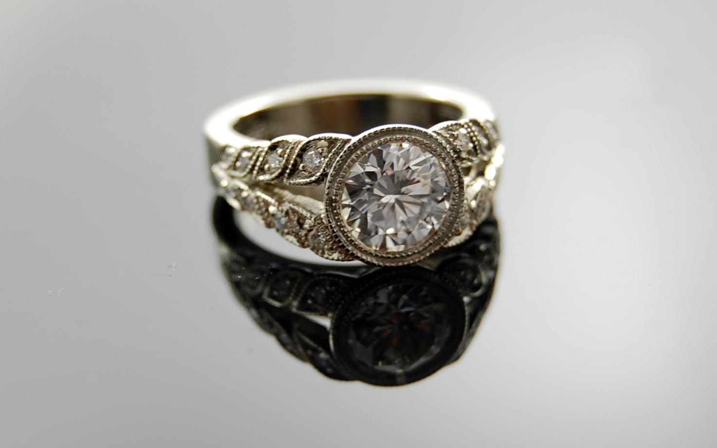 1.47 carat Old European Cut with 6mm Superfit