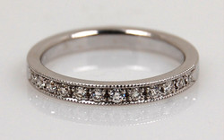 Bead Set 3mm Diamond Band