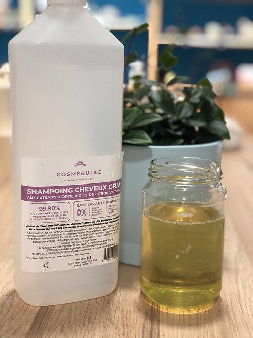 Shampoing liquide cheveux gras - 100g