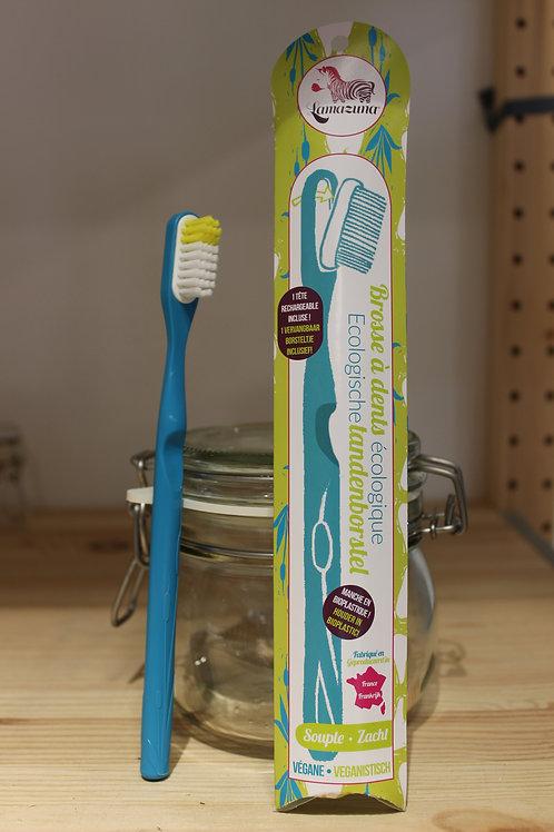 Brosse à dents rechargeable souple - Rouge, vert, jaune, bleu, violet