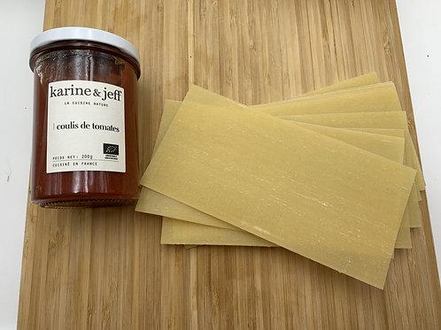 Plaque lasagne au blé ancien - 100g