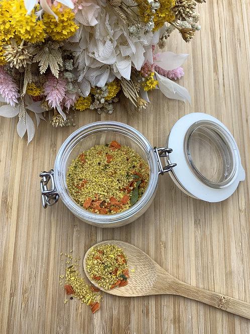 Couscous 4 céréales coco et curcuma - 100g