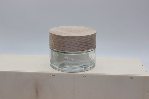 Pot verre 50 ml - cosmétique