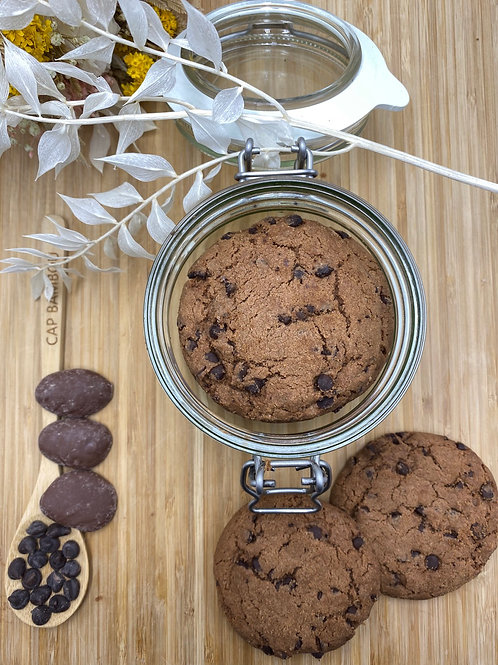 Biscuits Cookies tout Chocolat - 100g