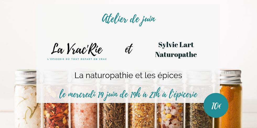 Atelier n°8 : la naturopathie et les épices