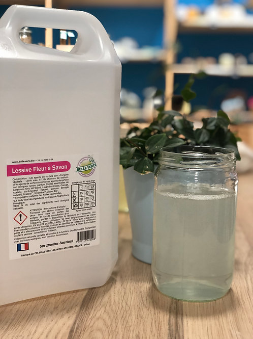 Lessive liquide Fleur à Savon - 100g