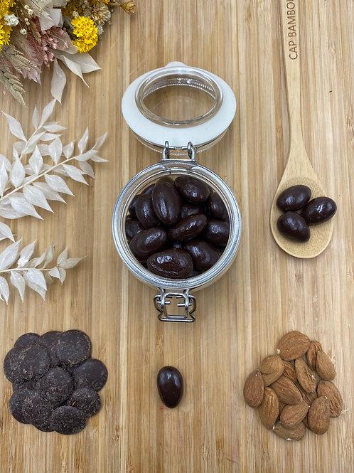 Boules amandes chocolat noir 74%- 100g