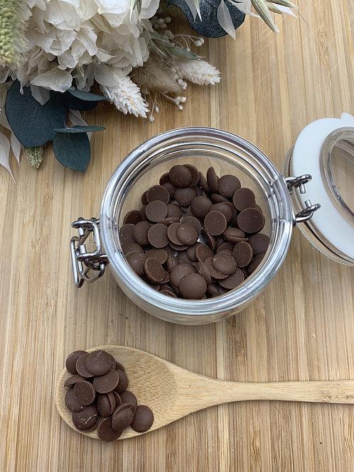 Pépites de chocolat au lait 35% - 100g