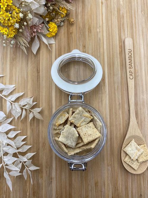 Biscuits apéritifs au comté - 100g