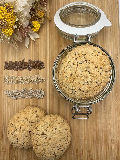 Biscuits Sablés Multigraines - 100g