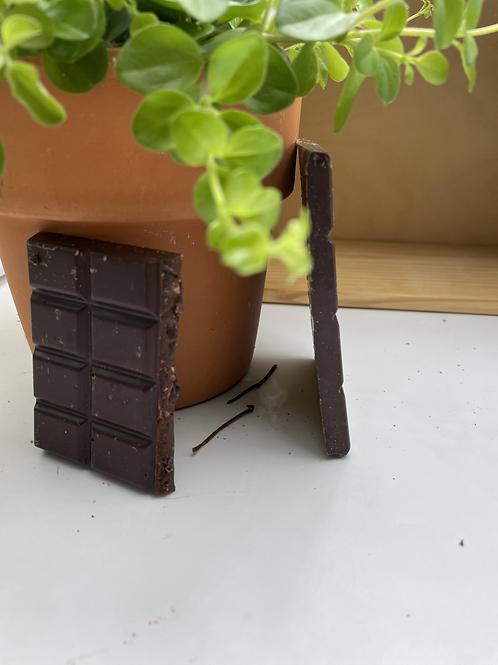 Tablette de Chocolat noir et amandes - 100g