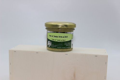 Crème de tomates vertes au basilic 100g