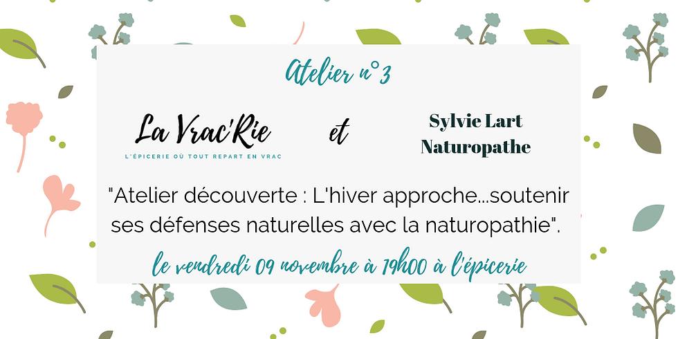 Atelier n°3 : découvrir la naturopathie
