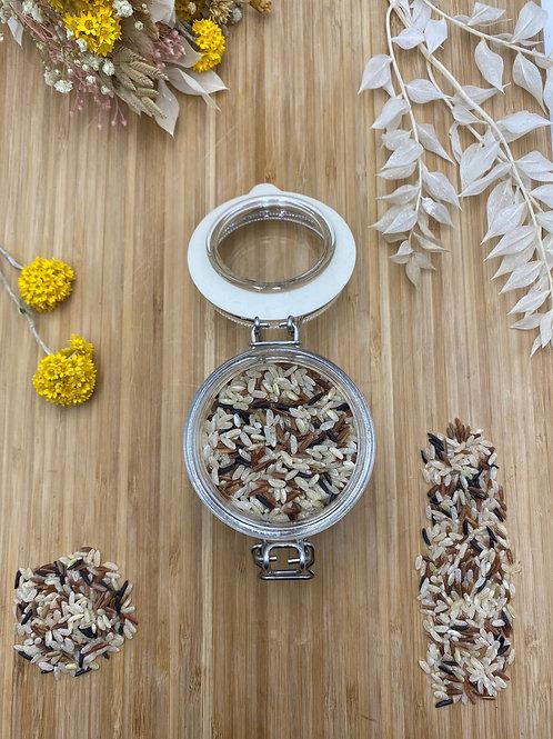Trio de riz semi complet - 100g