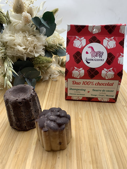 Duo 100% chocolat