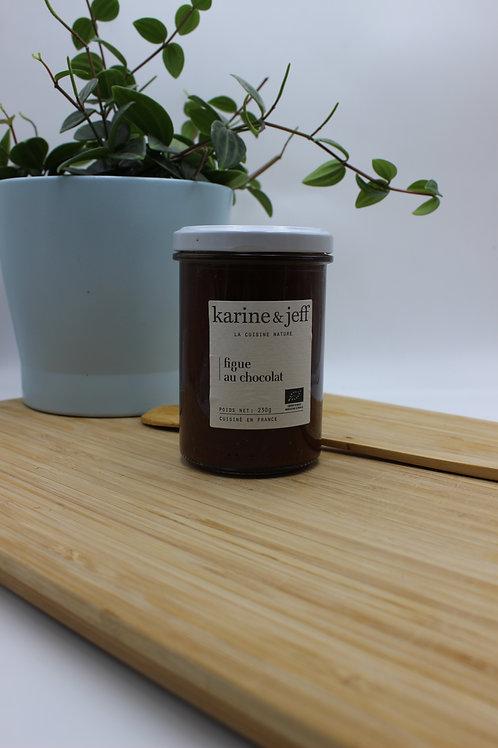 Confiture de figues au chocolat - 245g