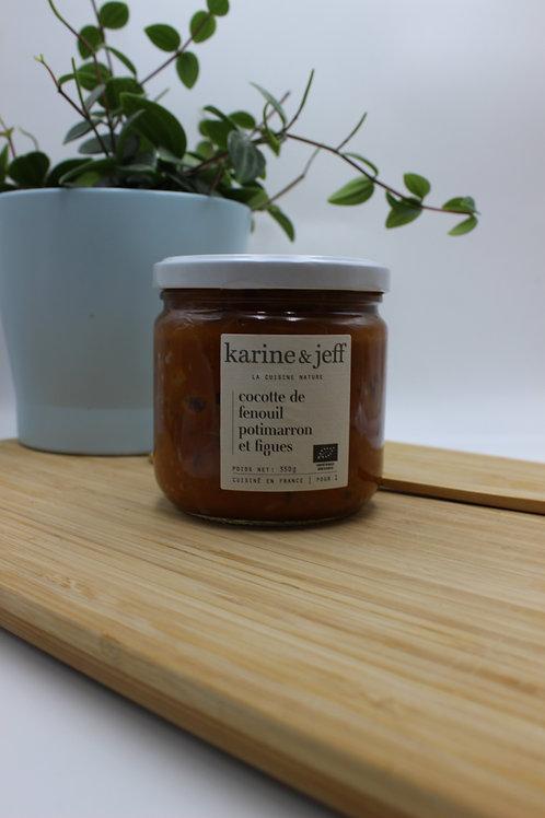Cocotte de fenouil, potimarron et figues - 350g
