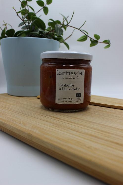Ratatouille à l'huile d'olive - 350g