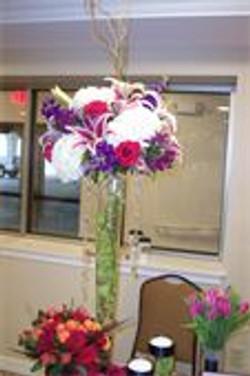 Centerpiece-Trumpet Vase