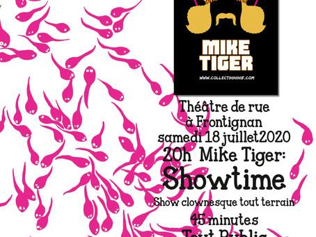Le 18 juillet, Gyrinus se déconfine #1 avec Mike Tiger