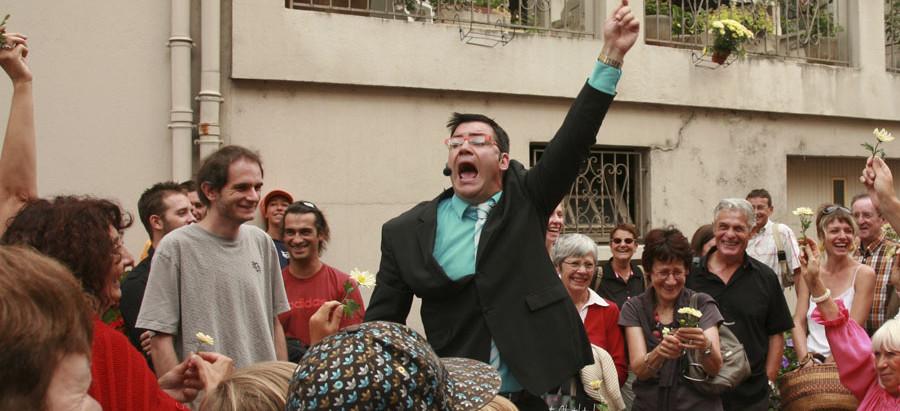 """26 mai : La Sardine Bleue accueille pour sa première le spectacle """"A vendre"""""""