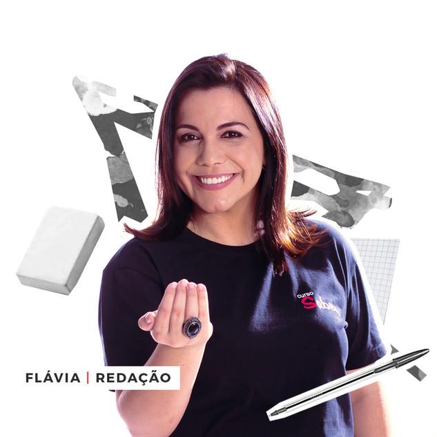 Professora Flávia Cabral