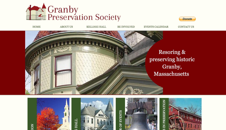 Loryn Designs - Granby Pres. Society