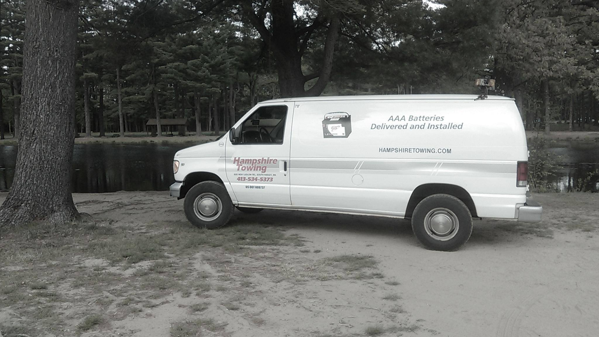 Hampshire Towing - Battery Service