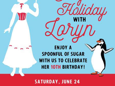 Jolly Birthday Invitation