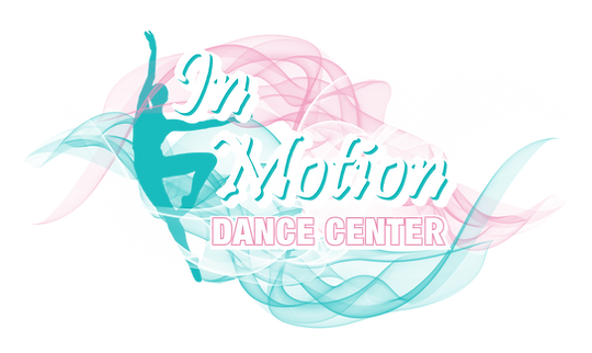 In Motion Dance Center Colorful Logo