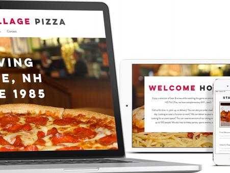 Portfolio - Cheshire Village Pizza