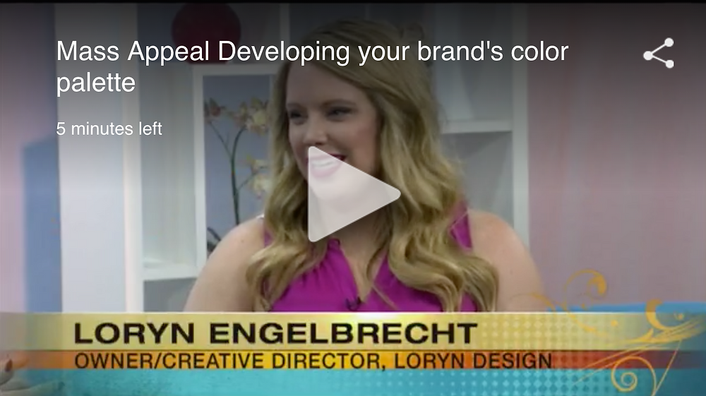 Loryn Design Mass Appeal Brand Color Palette