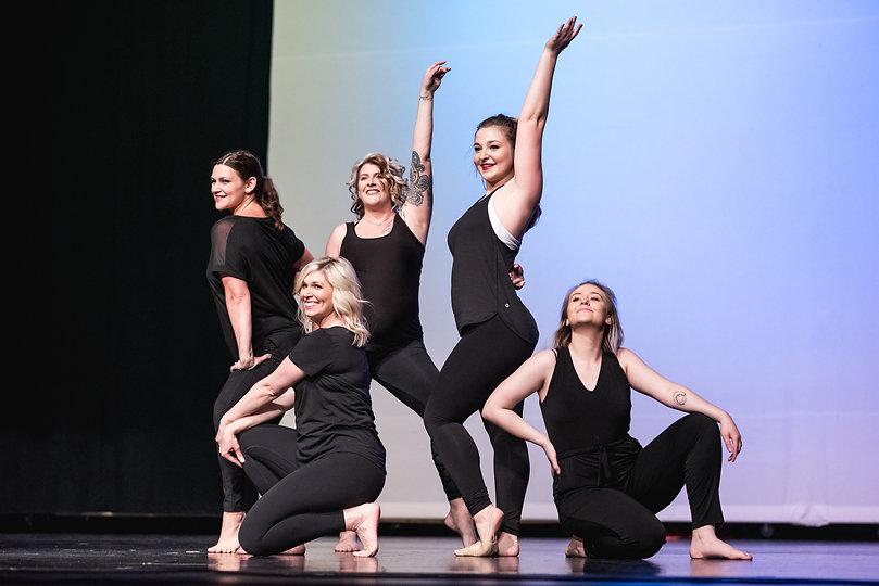 five-women-dancing-pose-recital