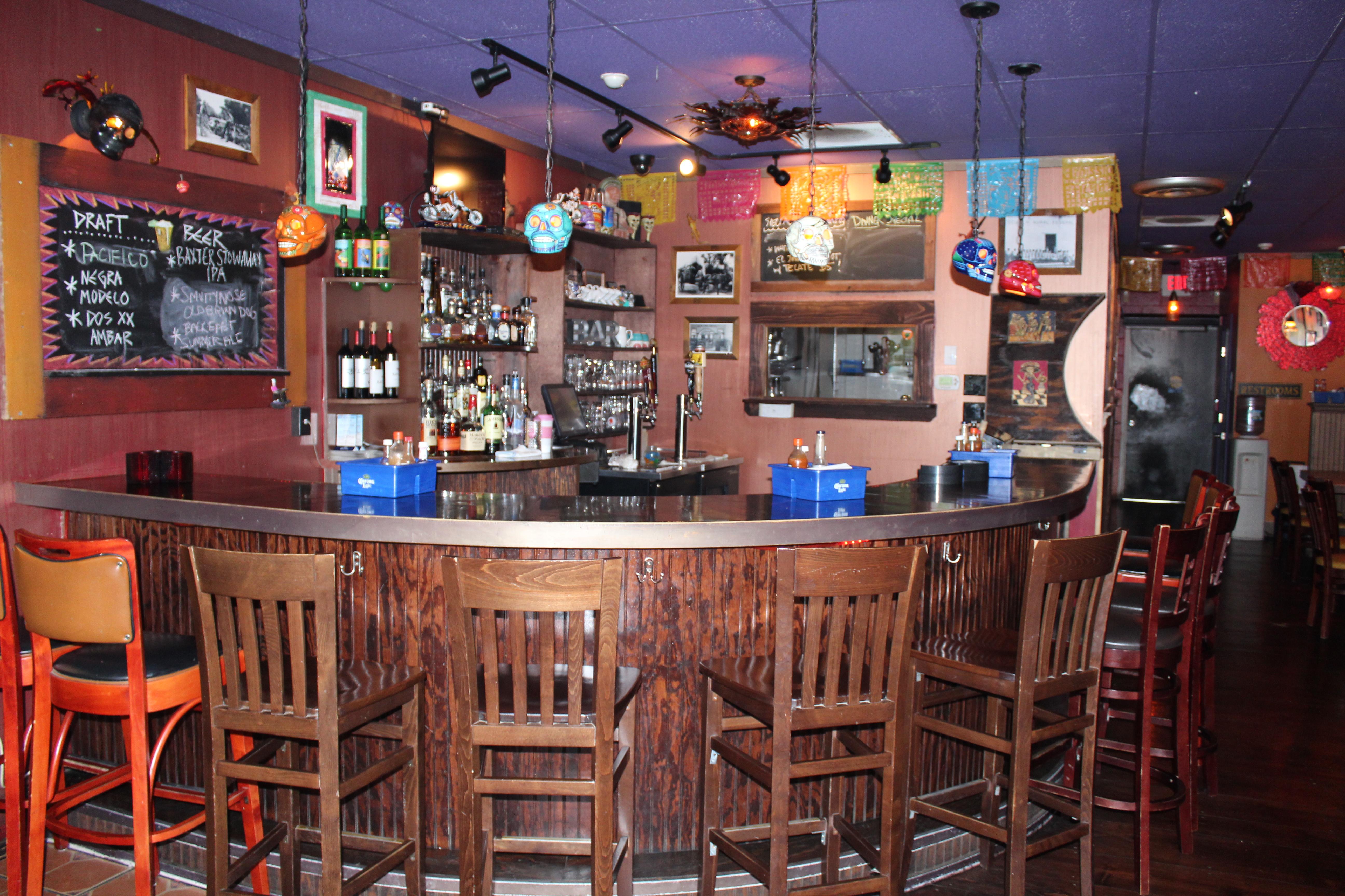 Bar at Mission Cantina