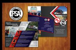 Loryn Design - Pleasant Street Auto Brochure
