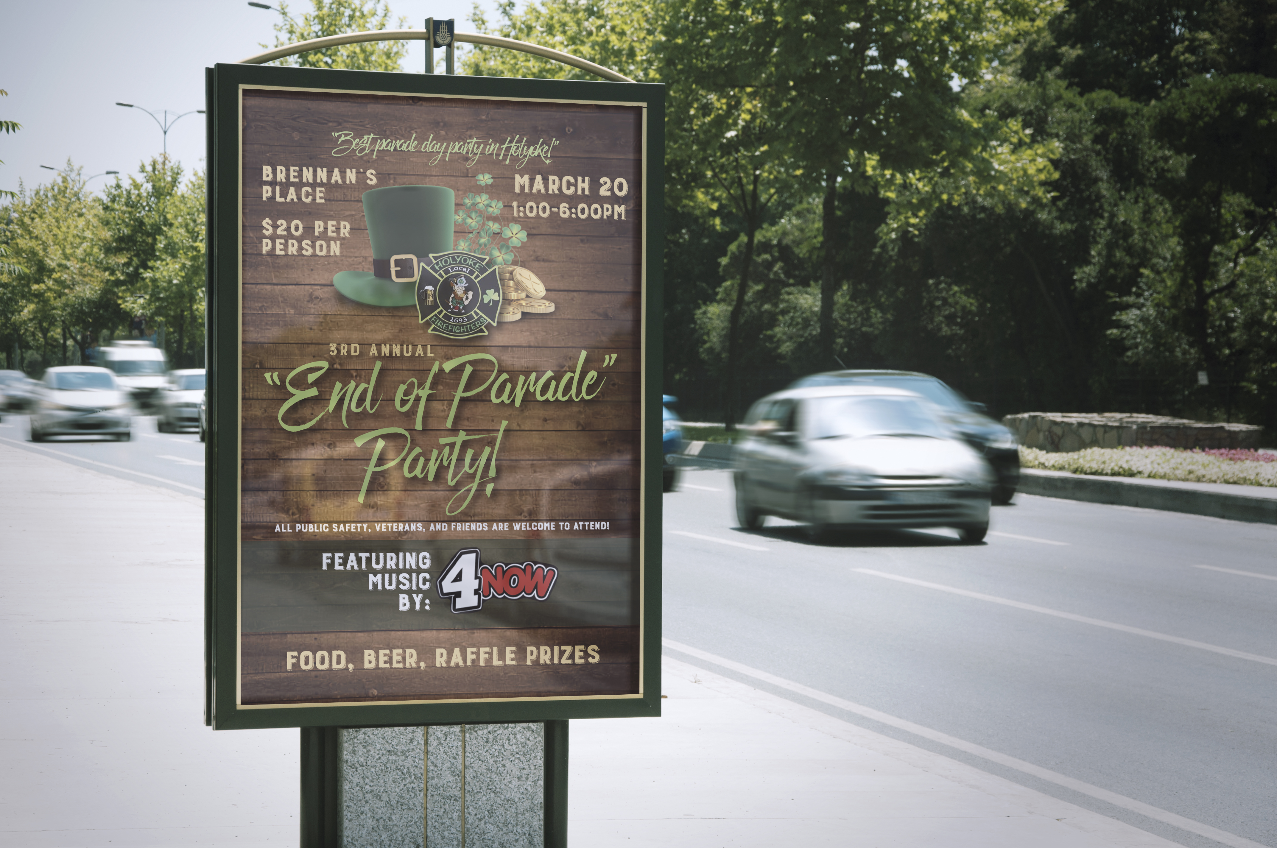 Loryn Design - End of Parade Poster