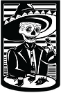 Mission Cantina Skeleton Graphic
